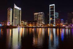 LEBANON, BEIRUT, VIEW OF ZAYTOUNI BAY