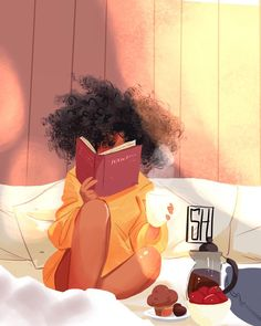 Black Art, this is me in bliss! American Art, Black Art, Female Art, Cute Art, Art Girl, Black Girl Art, Art, Magic Art, Cartoon Art