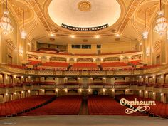 One of the old grand dames of theatre ~ extensively restored over the years.  The Orpheum ~ A wonderful, legendary theatre.