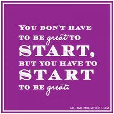 Being great #entrepreneur