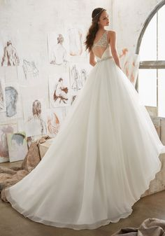 Blu - Marlowe - 5507 - All Dressed Up, Bridal Gown - Morilee - Chattanooga TN's All Dressed Up Bridal Shop / Bridal Boutique offers Wedding Gowns, Prom Dresses & Tuxedo Rentals