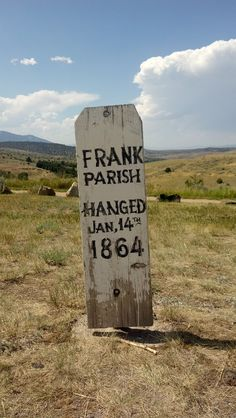 "Boot Hill, Virginia City, Montana. The term Boot Hill alludes to the fact that many of the cemetary's occupants were cowboys who ""died with their boots on,"" the implication being they died violently, as in gunfights or by hanging, and not of natural causes."