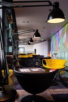 Art'otel Amsterdam. Netherlands designed by Digital Space