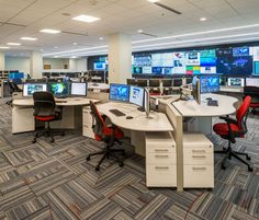 Command Center Furniture Design control room design | control room console furniture