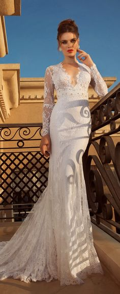 Wedding Dresses by Oved Cohen 2014 Collection | bellethemagazine.com