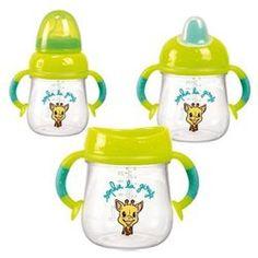 Tasse évolutive Sophie la girafe : 3 en 1 VULLI - Vaisselle bébé