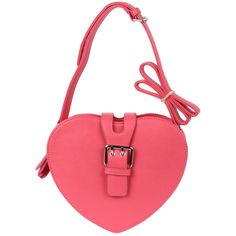 Pink Heart Shaped Crossbody Bag - So sweet for Valentine's Day!