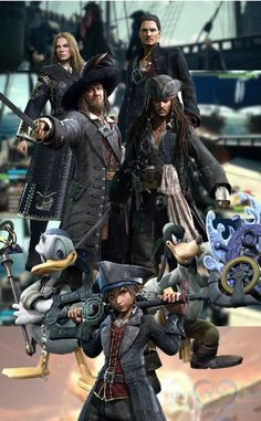 KH3 Pirates of the Caribbean