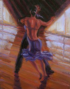 Salsa Dance Painting