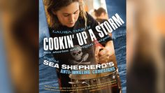 """Over 80 vegan recipes and stories of life at sea are featured in Laura Dakin's 'Cookin' Up a Storm.' - """"Cookin' Up a Storm"""" will be available soon from Amazon for $22.46."""