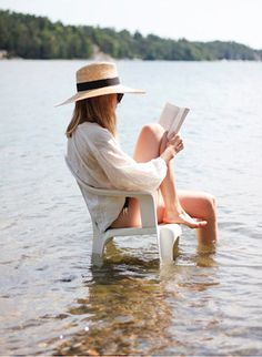 reading at that beach