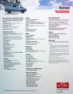 2018 Winnebago Revel Sprinter conversion van specs and price Sprinter Camper, Benz Sprinter, Mercedes Sprinter, Mercedes Benz, Van Conversion Interior, Camper Van Conversion Diy, Camping For Beginners, Camper Awnings, Sprinter Van Conversion
