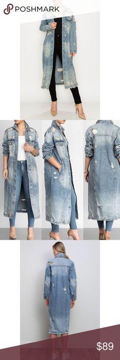 WillingStart Mens Oversized Stylish Washed Lapel Long-Sleeve Denim Tops Shirt