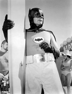 Batman (Adam West) rockin' the surfer shorts. Batman 1966, Im Batman, Batman Robin, Superman, Batman Tv Show, Batman Tv Series, Dc Comic Books, Comic Book Characters, Batgirl