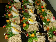 Porta Guardanapo de passarinho | Artes & Ofícios | 2EAFD7 - Elo7