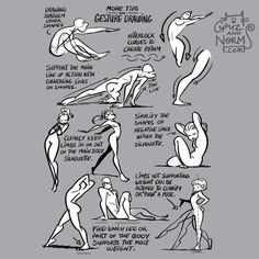 "5,703 Gostos, 62 Comentários - Griz and Norm Lemay (@grizandnorm) no Instagram: ""Tuesday Tips - Some pointers about gesture drawing. #norm #grizandnorm #gesturedrawing #tuesdaytips"""