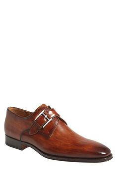 Magnanni 'Marco' Monk Strap Loafer (Men) available at #Nordstrom