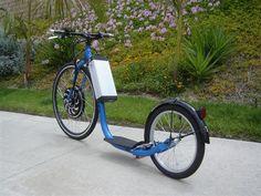 20 Mph E-Kick Bike photo by pewinston