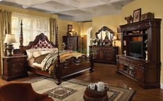 """Luxury Master Bedroom Designs from @hgsphere ◆One of my favorite """"truly traditional"""" bedrooms◆"""
