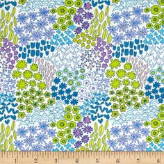 Art Gallery Dreamin' Vintage Sweet Meadow Orchid from @fabricdotcom  Designed by Jeni Baker for Art Gallery Fabrics, this cotton print is perfect for quilting, apparel and home decor accents.  Colors include white, pink, shades of blue, shades of green and shades of purple.  Art Gallery Fabric features 200 thread count of finely woven cotton.