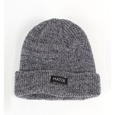 Matix Illiad Woven Beanie ($22) ❤ liked on Polyvore featuring accessories, hats, beanies, men, white beanie, flat hat, matix hat, woven beanie and beanie cap hat