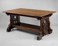 gothic library table