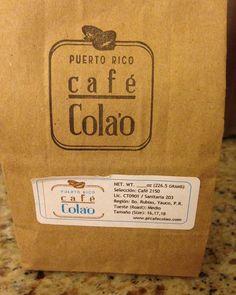 Cafe Colao de Yauco #culinaryroadtripspuertorico #puertorico #localproduct