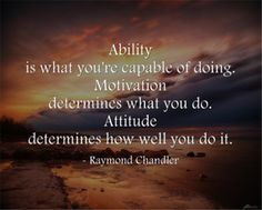 Raymond Chandler quote.