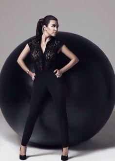 Kourtney's Kardashian Kollection Lace Jumpsuit is Back at Sears. Shop now on sears.com/Kardashian + get 60% OFF