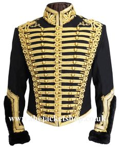 Royal Artillery Pelisse Circa Tunic jacket 1815 (Prussian army jacket)