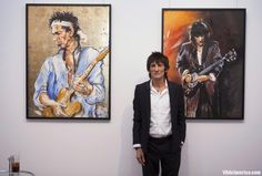 A British art dealer who abused his position by stealing clients' artworks, including many paintings by Rolling Stones guitarist Ronnie Wood, was jailed on Tuesday, the state prosecution service said.  The artworks, taken over a 27-year period, included portraits of Mick Jagger, Bob Dylan, Ringo Starr, Marilyn Monroe and model Kate Moss painted by Wood, who has pursued his love of painting in parallel with his career as a rock musician.  #ArtsEntertainment