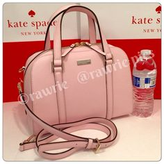 "New Kate Spade felix pink saffiano leather satchel 100% authentic. Ballet slip soft pink saffiano leather with 14-karat light gold plated hardware and protective metal feet. Inside zip and slip pockets. Zip top closure and fabric lining. Handles drop 4.5"". Longer detachable and adjustable strap. Measures 11.5"" (L) x 8.5"" (H) x 4.5"" (W). Brand new with tags. Comes from a pet and smoke free home. Kate Spade shopping bag included. kate spade Bags Crossbody Bags"