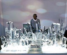 Ice DJ Booth (real ice!)
