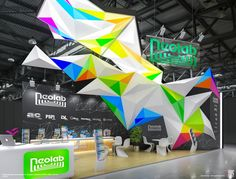 Exhibition stand #tradeshow #exhibitdesign #eventprofs
