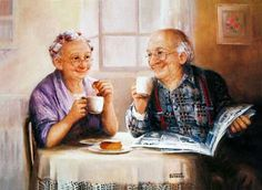 Coffee Break by Dianne Dengel