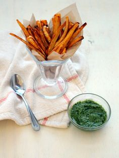 Paprika Parsnip Fries ‹ Hello Healthy