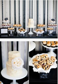 Dessert table. Would be nice all homemade.