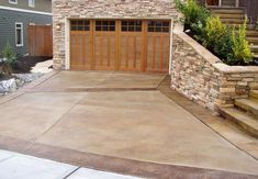 With these steps on how to acid stain concrete you ll achieve a marbled effect on your patio driveway or basement floor Acid Stained Concrete Patio, Diy Concrete Stain, Concrete Patio Designs, Concrete Driveways, Concrete Floors, Decorative Concrete, Colored Concrete Patio, Concrete Lamp, Stamped Concrete