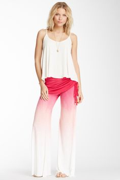 Love these pants!   Sierra Ombre Drawstring Foldover Pant: COMFY