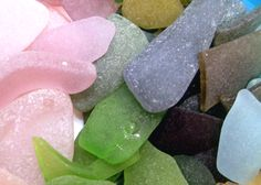 beach glass from Virginia