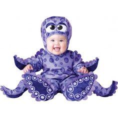 Ce déguisement de pieuvre pour bébé est simplement incroyable grâce à ces spectaculaires tentacules.