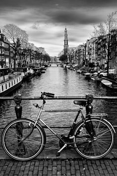 The Bicycle is a way of life here in Amsterdam.