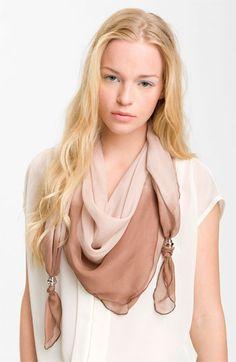Make + Model Ombré Silk Scarf