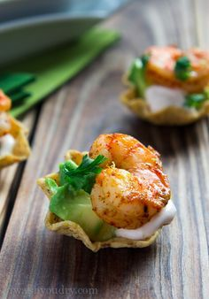 Easy Shrimp Taco Bites | 24 Of The Most Delicious Things You Can Do To Shrimp