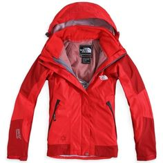 Cheap North Face Summit Series Gore Tex Women Red uk  North Face 227  - £ 7f94409b3