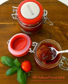 Easy to make Tomato Relish that is gluten free and full of flavour. Perfect on hamburgers and with crispy wedges! Need this recipe!!