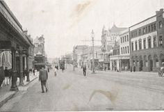 West Street – Durban – A Pictorial History Kwazulu Natal, African History, Back In The Day, Historical Photos, East Coast, South Africa, Street View, City, Graham