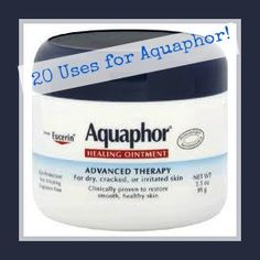 20 Amazing uses for Aquaphor ointment!