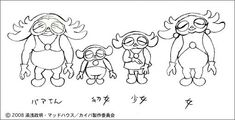Design, Character Design, Character Art, Inspiration, Illustration, Artwork, Anime, Yuasa, Cartoon