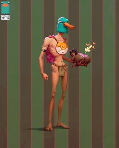 Wild Duckler, Arthur Mukhametov on ArtStation at https://www.artstation.com/artwork/wild-duckler